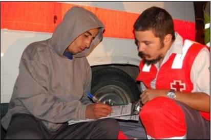 Intervención de la ERIE, Cruz Roja Española