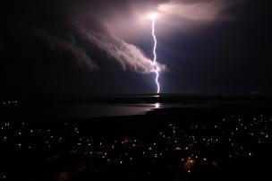 Tormenta en Asunción (Paraguay). 2008